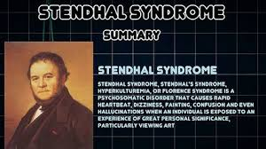 stendhal syndrome medical condition video dailymotion
