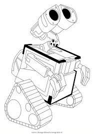 Disegno Walle02 Personaggio Cartone Animato Da Colorare