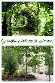 there are many types of garden arbors and arches they can be used as an