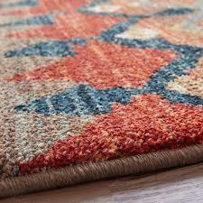 12 x 15 karastan machine woven area rug saigon multi transitional tribal scandinavian area rugs by world bazaar