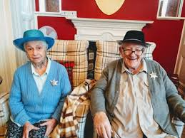Happy Birthday and 'Howdy Partners' to Ellen and Ivan at Woodbury House  Care Home   brighterkind