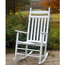 white outdoor rocking chair. Traditional White Outdoor Rocking Chair A