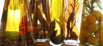 Decorative Infused Oil Bottles HerbInfused Oil And Vinegar Jewish Food Experience 68