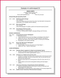 Experience Based Resume Skills Based Resume Templates Skills Based Resume Templates 5