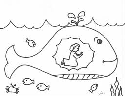 Small Picture Jonah And The Whale Coloring Page itgodme