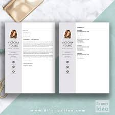 Creative Resume Template Modern Cv Word Cover Letter Does Microsoft