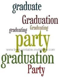 Graduation Party Announcement Free Party Invitation Es Invite E Graduation Invitations