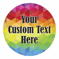 Personalized Gift Label Rainbow Design Label