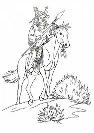 Small Picture 74 best american indian colouring images on Pinterest American