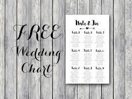 Free Wedding Seating Charts Lamasa Jasonkellyphoto Co