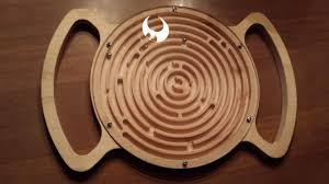 Wooden Marble Maze Game marble maze 100D CAD Model Library GrabCAD 28