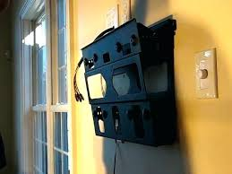 best cable box direc cable box says app alt cable box wall mount behind tv