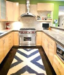modern kitchen rugs galley idea in city mid for design 3 rug ideas floor