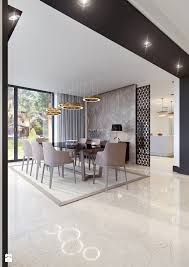 dining room contemporary living room dining area designs lovely jadalnia styl nowoczesny zdjÄ cie