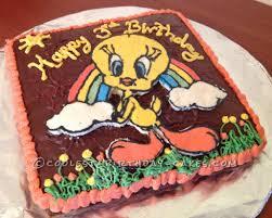 Tweety Bird Cake Designs Easy Tweety Bird 3rd Birthday Cake