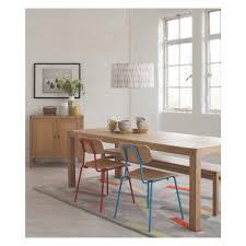 radius 8 seat oak dining table now at habitat uk