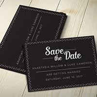 Print Save The Date Cards Save The Date Cards Artista Design Print Inc