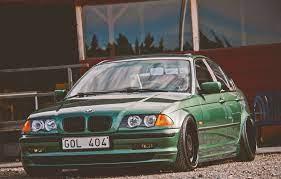 green BMW sedan #tuning #bmw #BMW #E46 ...