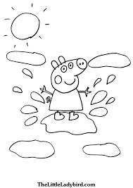 value peppa pig printable coloring pages for kids freecolorngpages co