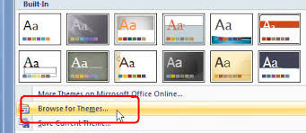 Theme For Powerpoint 2007 Eternjs Tech Space Ms Office