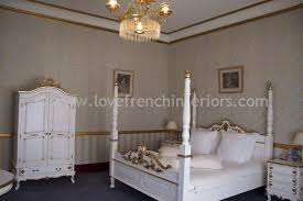 Louis XV Four Poster Bed Super Kingsize