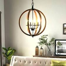 gold orb chandelier dining room round hanging 4 bulb light fixture metal winter