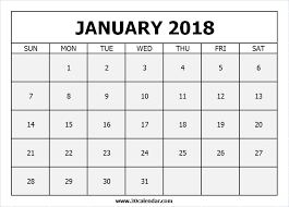 calendar january 2018 template january 2018 calendar to december 2018 calendar printable template