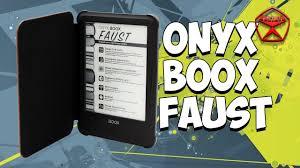 <b>Электронная книга ONYX BOOX</b> Faust / Арстайл / - YouTube