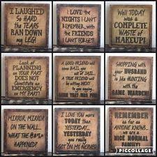 Small Picture Wooden Home Dcor Quotes Sayings eBay