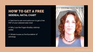 Sidereal Birth Chart Reading Free How To Get Your Free Sidereal Natal Chart