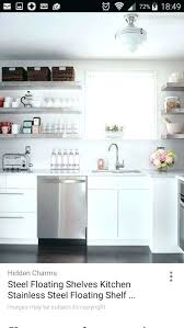 stainless steel kitchen shelf stainless steel shelf kitchen splendid stainless steel shelves for kitchen cabinets creative