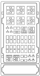 ford e series e 150 2005 fuse box diagram auto genius ford e series e 150 fuse box power distribution box