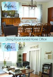 dining room and office. Charming Office Decor Dining Room Combo Ideas: Large Size And