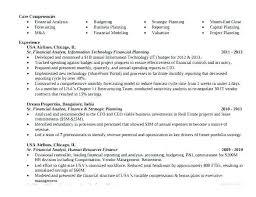Finance Analyst Resume Financial Analyst Resume It Business Analyst
