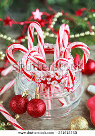 Candy Cane Table Decorations Red Candy Canes Glass Jar Between Stock Photo 60 Shutterstock 57