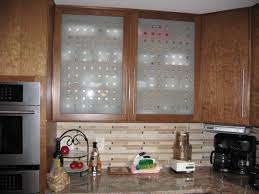 charming image of kitchen decoration using etched glass door for kitchen cabinets astounding kitchen decoration