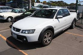 File:2005 Holden VZ Commodore Cross 8 Utility (23002639272).jpg ...