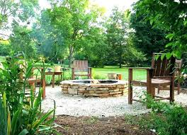 fine pit backyard landscaping pea gravel fire pit plus adorned areas patio with this in fire pit gravel patio u