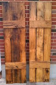 barnwood boardandbatten shutters easy to make from any wood especially if it is going be painted wooden shutters s99 shutters