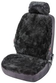 Car Seat cover Iva made of lambskin black with ZIPP IT system   Sheepskin  Seat Covers   Car Seat Covers   Seat Covers & Cushions   Walser Online Shop