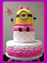 Pink Minion Fairy Birthday Cake Broadwaybakerycom 39206