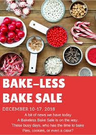 Bake Less Bake Sale Blissful Dreams Rescue Ranch