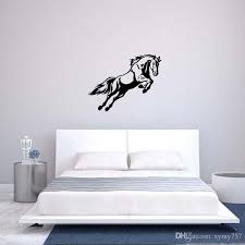hot sale for jumping horse wall art decal vinyl removable sticker cars vans horseboxes bedroom sitting room diy decors wall decals wall decals and murals  on horse wall art decal with hot sale for jumping horse wall art decal vinyl removable sticker