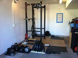 diy garage gym equipment