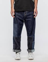 McQ Alexander McQueen Cropped Recycled Jeans
