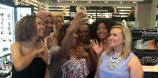 the no make up make up look cl at new sephora in ponce city market