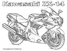 Motorcycle Coloring Pages Motorcycle Coloring Book