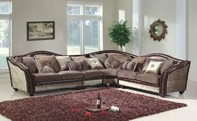 Tapestry Sofa Living Room Furniture Mcferran Sf2780 4pcs Warm White Living Room Sofa Set