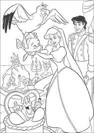 Disegni Della Sirenetta Ariel Da Stampare E Colorare Compleanno