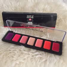 last chance makeup forever artist rouge palette